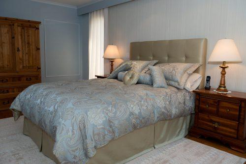 Habillage de lit complet