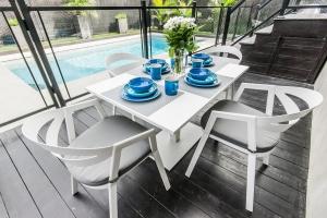 Coussins de chaises extérieurs